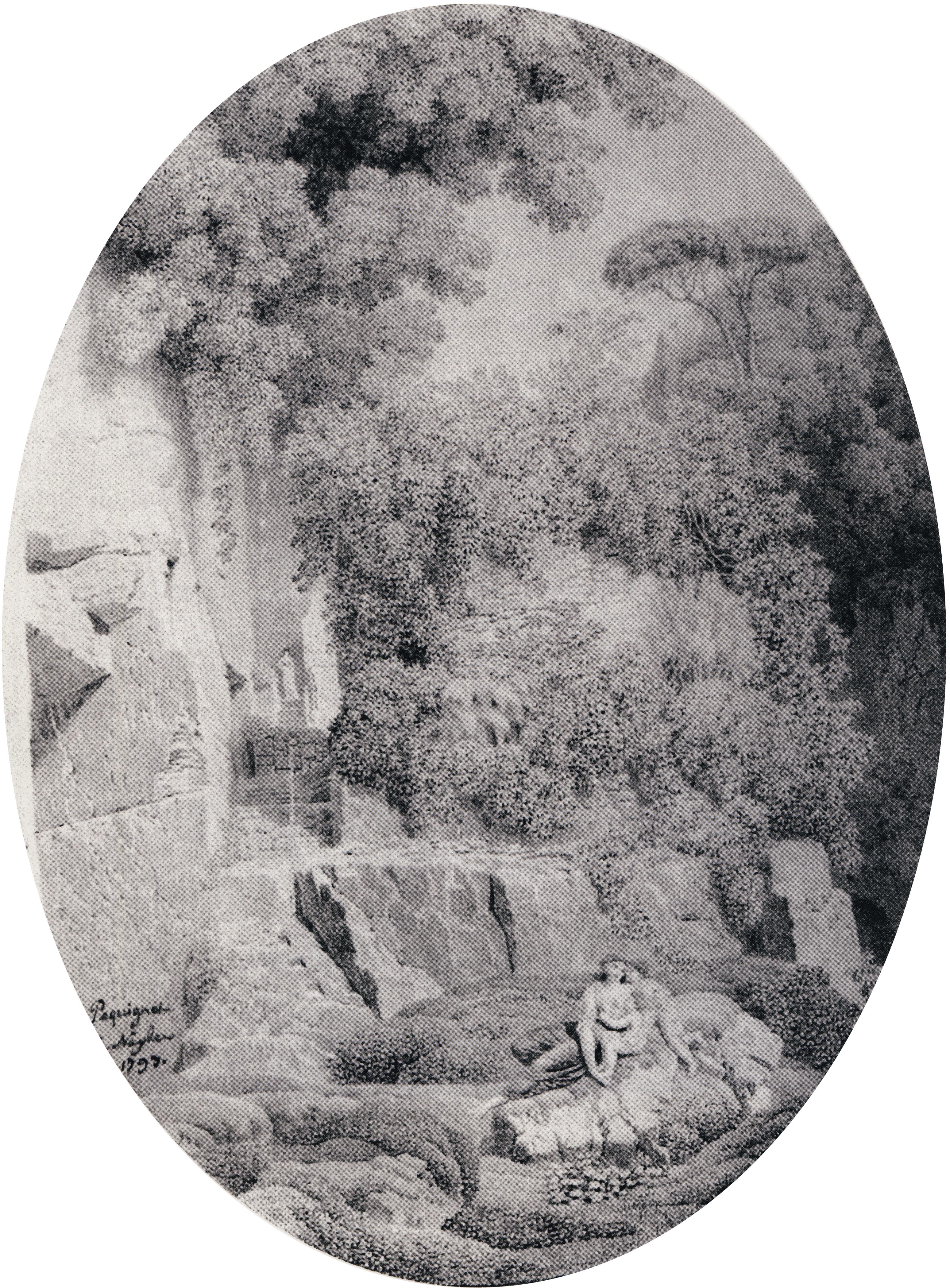 Tableau Frimas Photographie sur toile avec cadre noir 60 x 40 cm