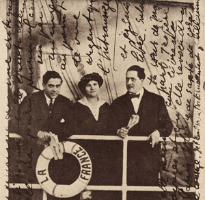 Gabrielle Buffet-Picabia, Francis Picabia, Guillaume Apollinaire
