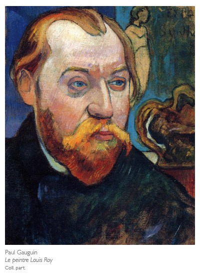Paul Gauguin, Portrait de Louis Roy