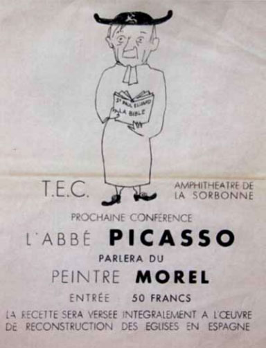 Maurice Morel, Picasso
