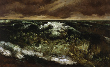 De Artibus Sequanis, Gustave Courbet, La Vague, museum of art, Dallas