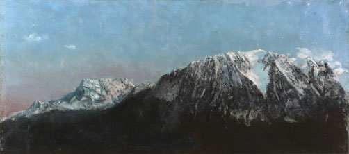 De Artibus Sequanis, Gustave Courbet, Grand panorama des Alpes