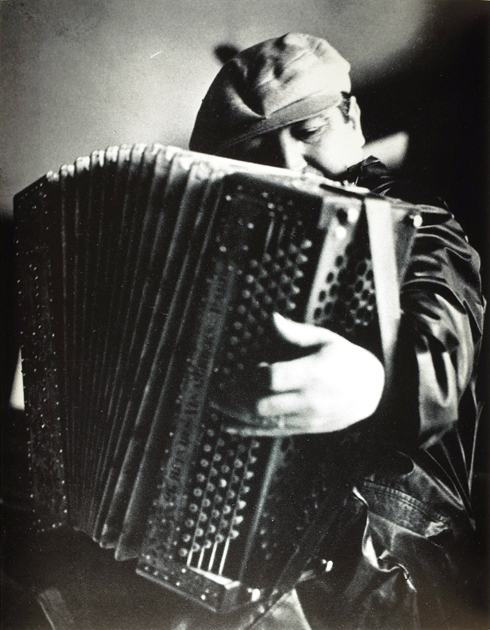 François Tuefferd, Pepito, l'accordéoniste, Paris, 1935