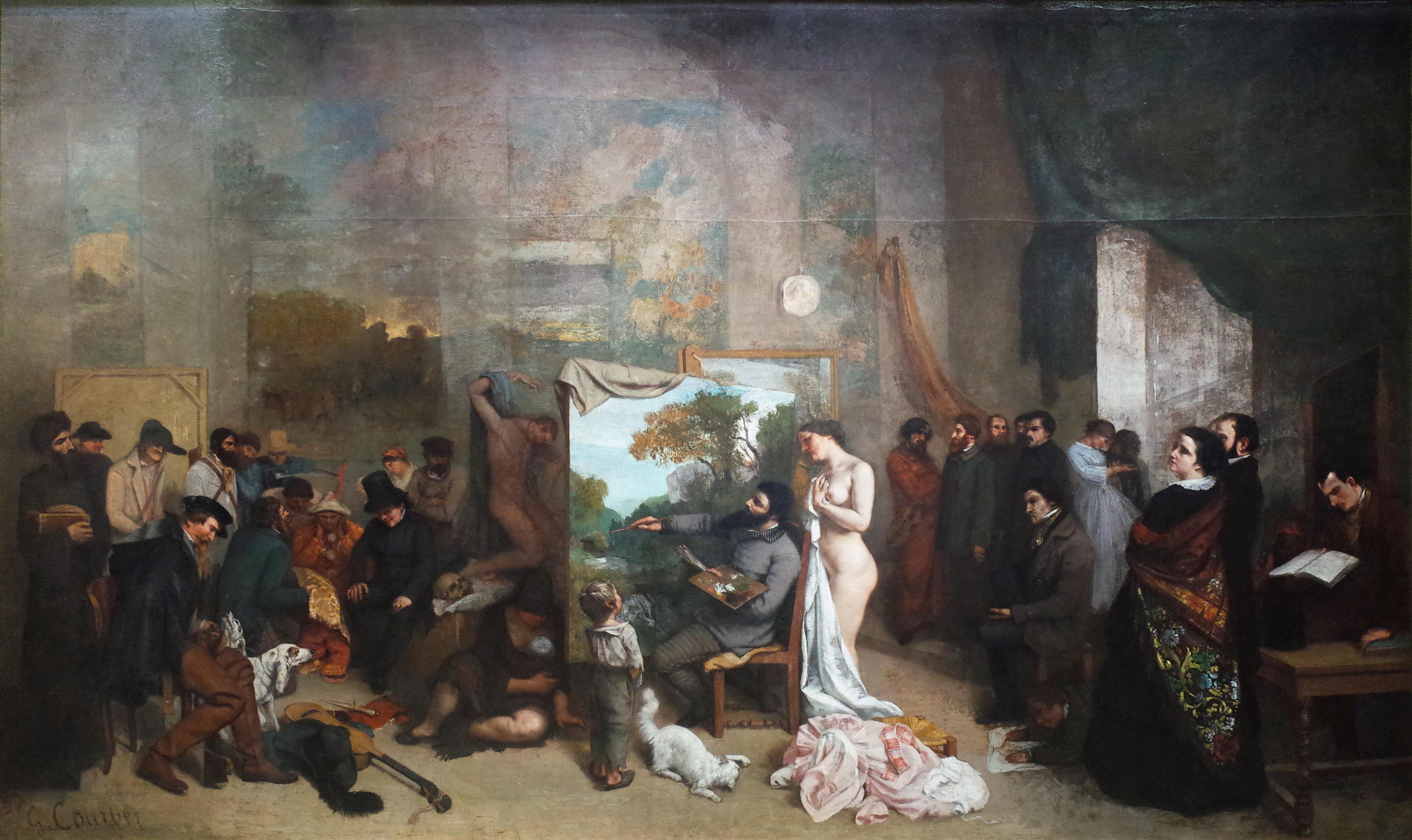 Tenue D Artiste Peintre l'atelier du peintre